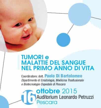 16 ottobre 2015 - Convegno Tumori infantili