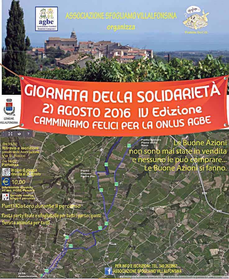"""21 agosto 2016 - Le """"Sfogliatelle"""" sostengono l'AGBE"""