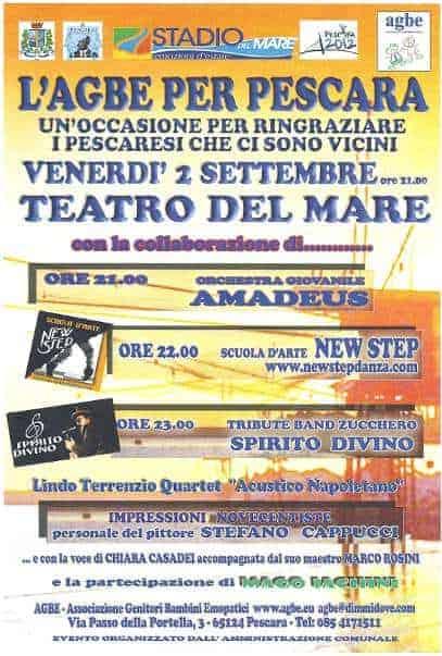 "02 settembre 2011 - Manifestazione "" l'AGBE per Pescara"""