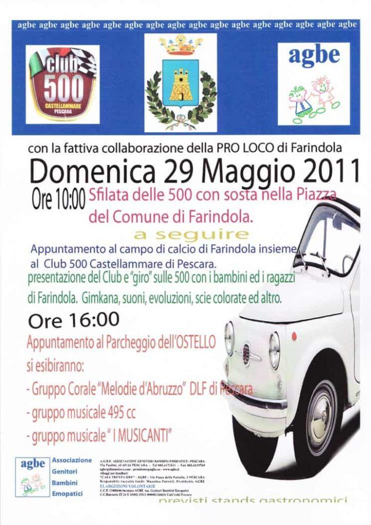 AGBE & Club 500 Castellammare - Tutti insieme a Farindola