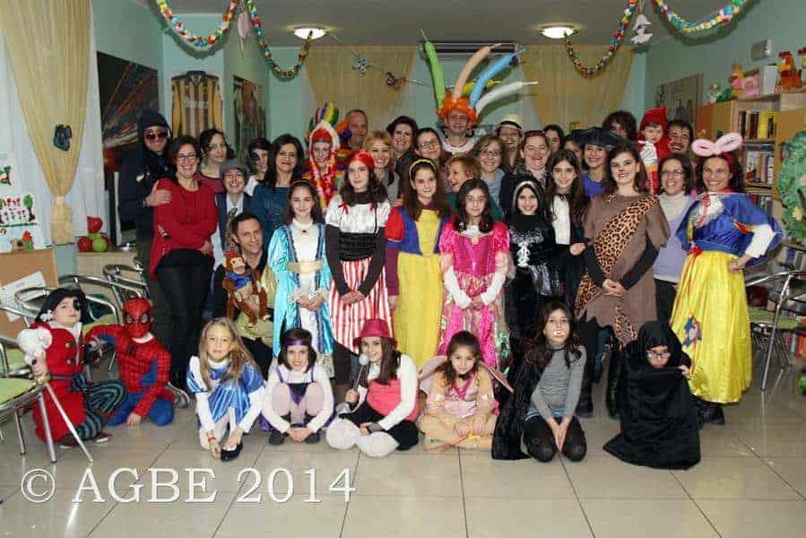 Carnevale con l'AGBE - 2014