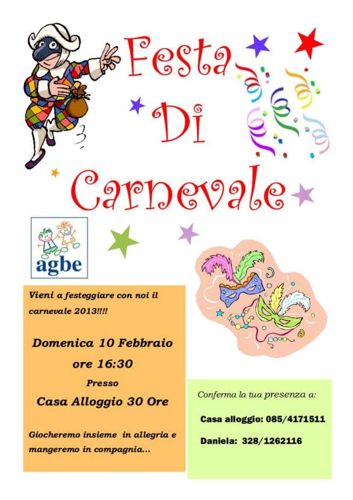 10 febbraio 2013 - Carnevale con l'AGBE