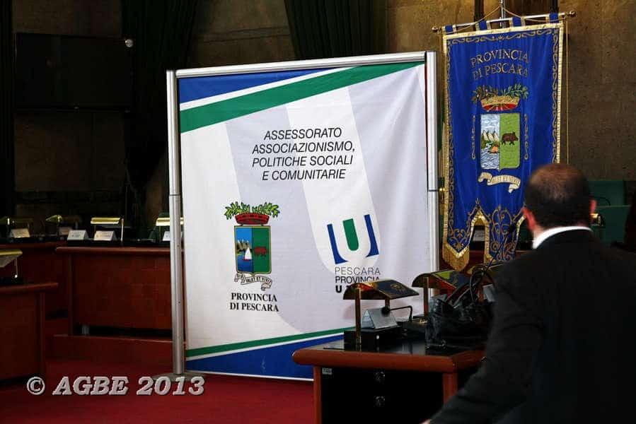 13 gennaio 2013 - Galà della Solidarietà - premiata l'attività dell'AGBE