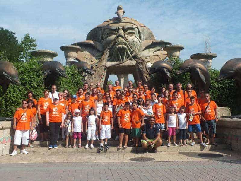 24, 25 e 26 agosto 2012 - I piccoli soci dell'AGBE ospiti a Gardaland