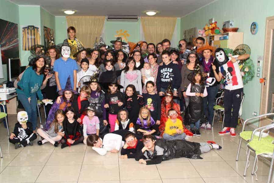 04 novembre 2012 - Halloween in Casa Trenta Ore per la Vita