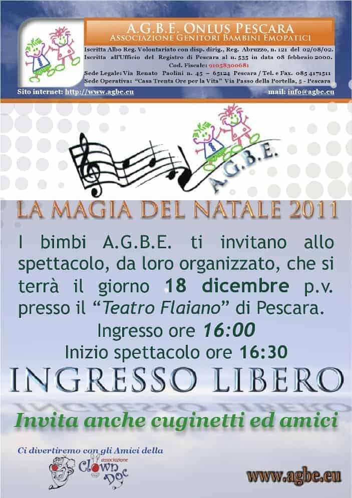 18 dicembre 2011 - La Magia del Natale - Festa AGBE
