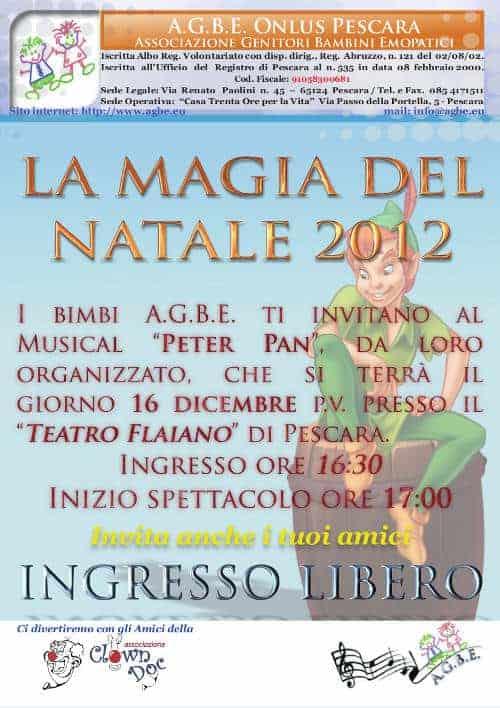 16 dicembre 2012 - La Magia del Natale - Festa AGBE