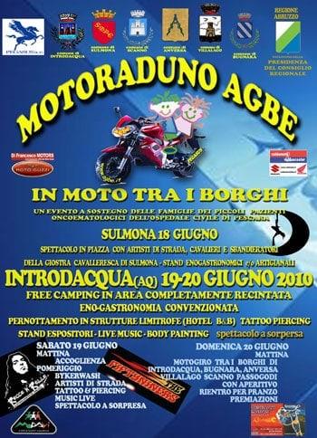 Appuntamento per tutti i motociclisti