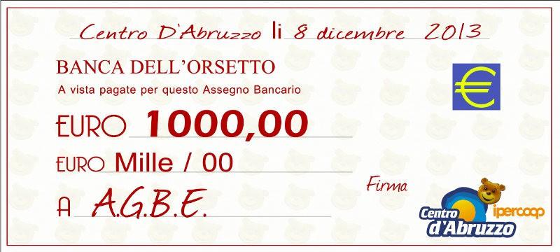 8 dicembre - Centro d'Abruzzo... Solidarietà a 1000