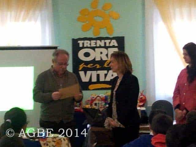 25/02/2014 - Piccoli Amici in visita all'AGBE