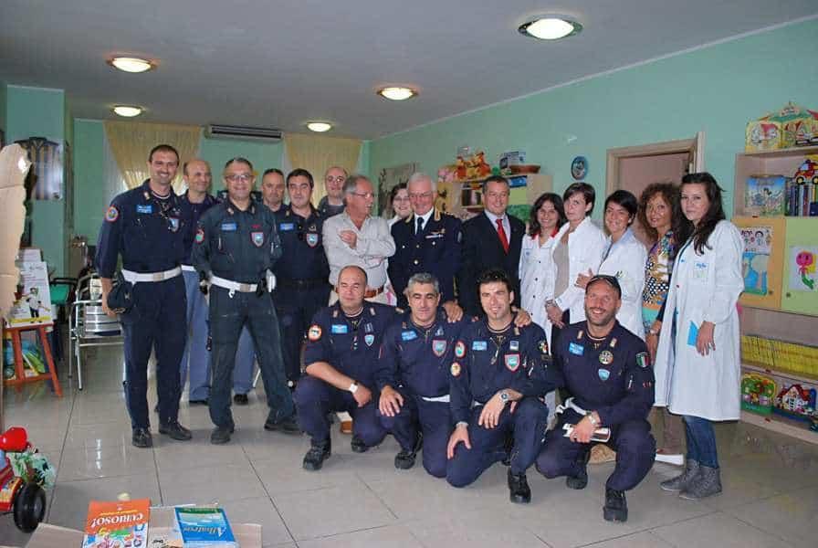 25 settembre 2012 - La Polizia di Stato in visita all'AGBE