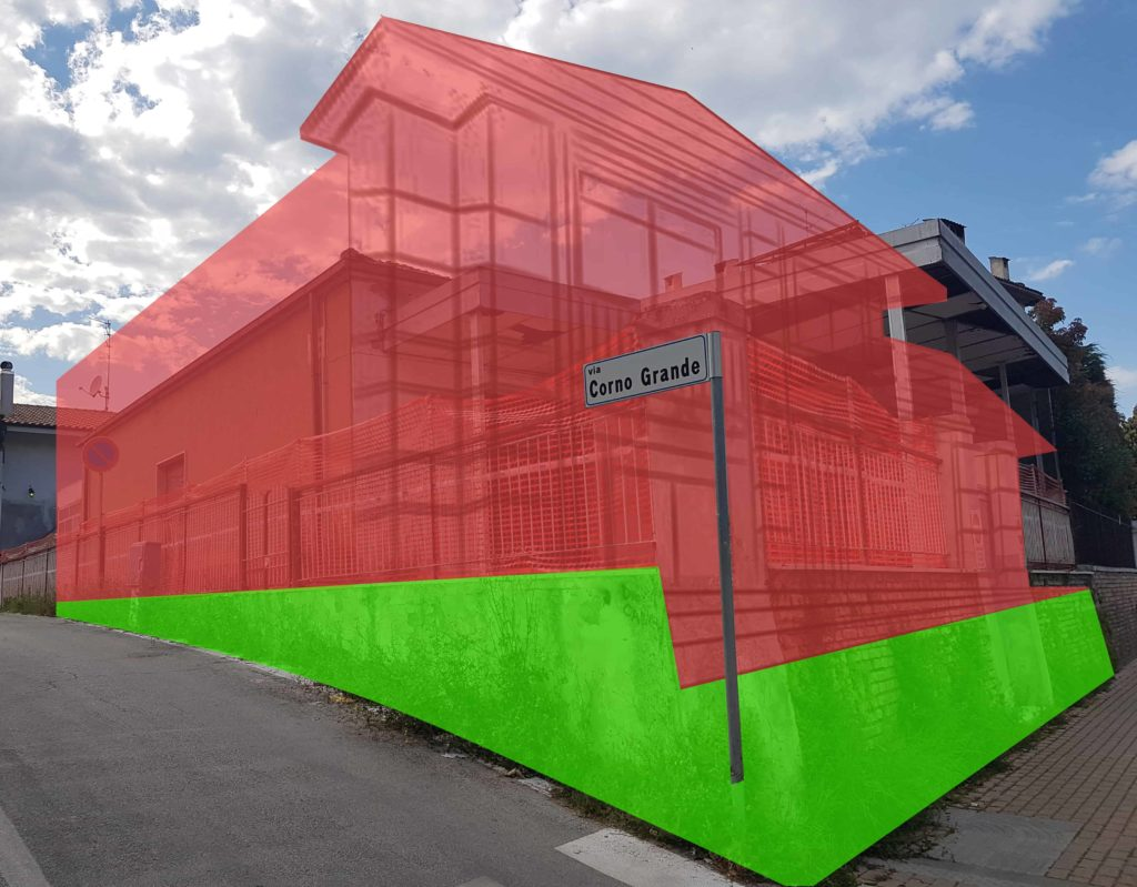 Rendering 3D del progetto della nuova casa AGBE per le famiglie dei piccoli pazienti oncologici-pediatrici