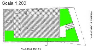 Piantina della nuova casa AGBE a pochi metri dall'ospedale di Pescara