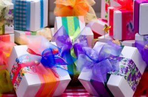 Regali di buon compleanno per i piccoli pazienti