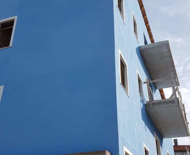Foto della nuova casa AGBE per ospitare le famiglie dei bambini in cura presso l'ospedale di Pescara