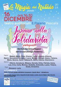 Spettacolo di Natale AGBE 2018 Pescara