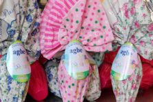 Dona per completare la costruzione di una nuova casa alloggio AGBE. Prenota le uova di Pasqua AGBE