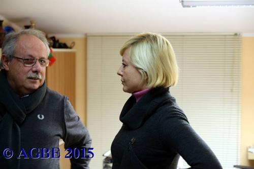 06-01-2015 Antonella Elia in AGBE