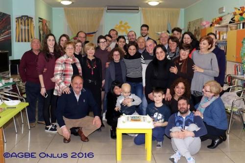 23-03-2016 Cena Volontari & Famiglie Auguri Pasqua