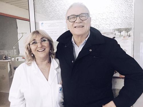 Inaugurazione sala ricreativa nel reparto di ematologia di Pescara